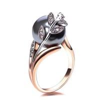 Au Naturel Gray Pearl Ring