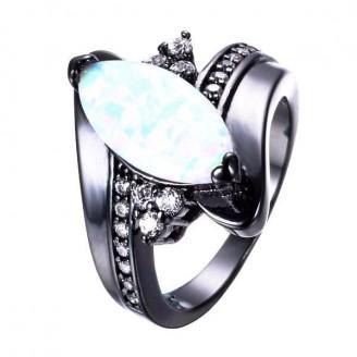 Pastel Opal Wedding Ring