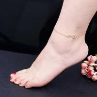 Layer Elegant Infinity Anklet [2 Variants]