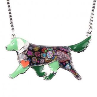 Favorable Golden Retriever Oil Dog Necklaces [6 Variants]