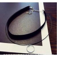 Color: Black Layered Circle C505