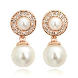 Retro Pearl Earrings [2 Variants]