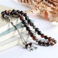 33 Tasbih Agate Islam Prayer Beads [8 Colours ]