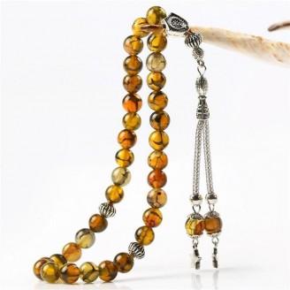33 Tasbih Agate Islam Prayer Beads [8 Colors]