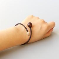 Natural Bodhi Seed Handmade Rope Bracelet