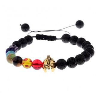 Knight Positivity Stone Beads Bracelet [11 Variants]