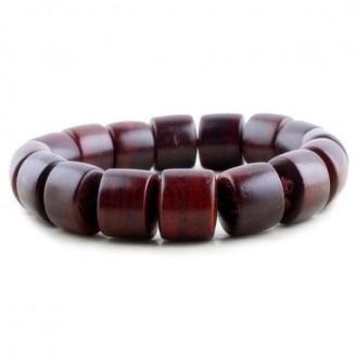 Purple Rosewood Buddhist Mala Prayer Bracelet