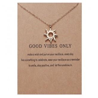 Superior Vibes Pendant Wish Necklace