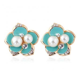 Beautiful Blooms Stud Earrings [4 Variants]