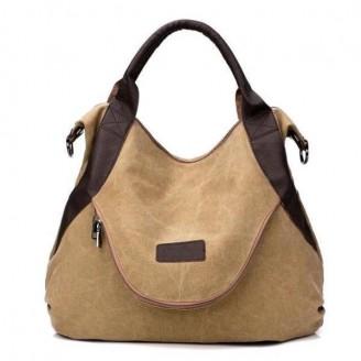 Casual Floppy Hobo Canvas Shoulder Bag [7 Variants]