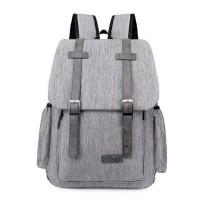 Waterproof USB Charging Mens Travel School Backpack [4 Variants]