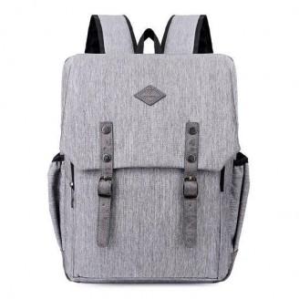 USB Charging Waterproof Laptop School Backpack [4 Variants]