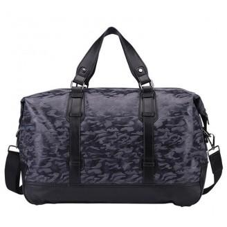 Camouflage Military Duffel Weekend Bag