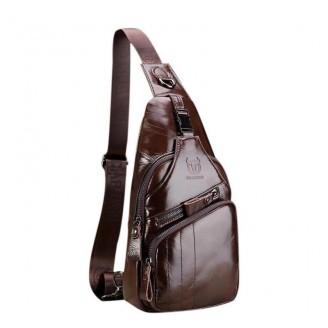 Waterproof Leather Traveler Crossbody Bags [3 Variants]