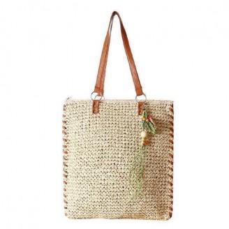 Woven Beach Tote Bag [3 Variants]