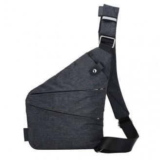 Anti-theft Crossbody Canvas Messenger Bag [2 Variants]