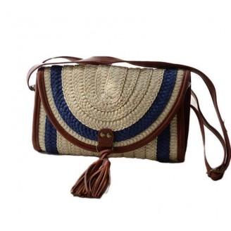 Handmade Straw Summer Beach Handbag [3 Variants]