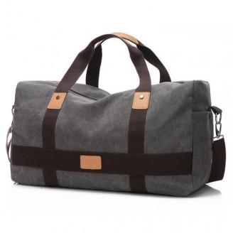 Fashion Leisure Canvas Duffel Bag [5 Variants]