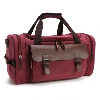 Casual Canvas Duffel Bag [5 Variants]