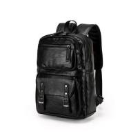 Waterproof Genuine Leather Backpack