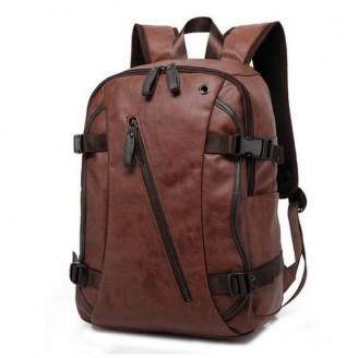 Large School Leather Bag [3 Variants]