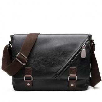 Casual Shoulder Leather Bag