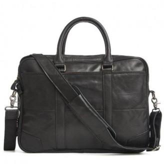 Large Business Briefcase Leather Bag [2 Variants]