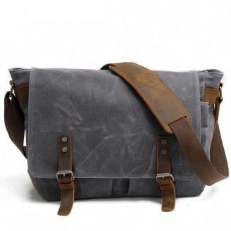 Waterproof Canvas Messenger Bags [4 Variants]