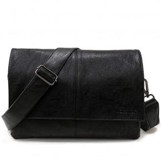 Envelope Leather Messenger Bag