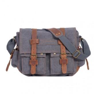Canvas Traveler Messenger Bag [11 Variants]