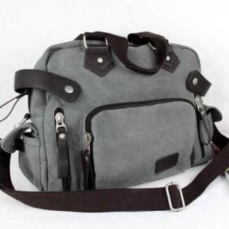 Canvas Travel Messenger Bag [3 Variants]