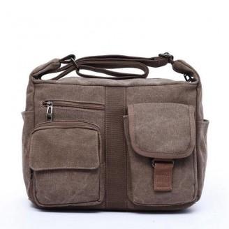 Canvas Satchel Messenger Bag [5 Variants]